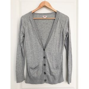 Mossimo Women's Grey Cardigan L